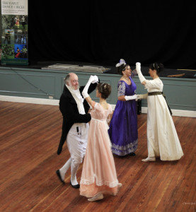 Jane Austen Dancers at the EDC Festival