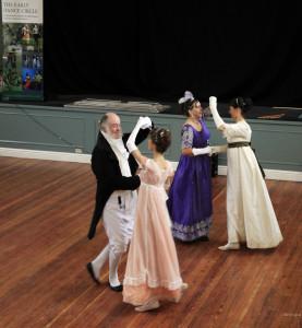 Jane Austen Dancers at the EDC Festival