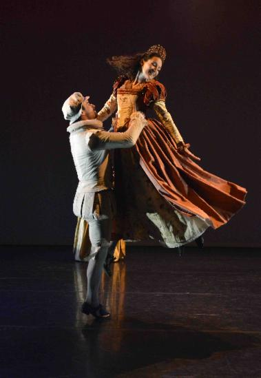 Nonsuch History and Dance Company perform La Volta