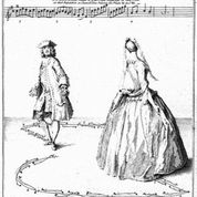 from Kellom Tomlinson, The Art of Dancing 1735