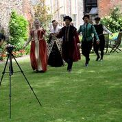 NHD being filmed at Stranger's Hall, Norwich (Chris Gill)