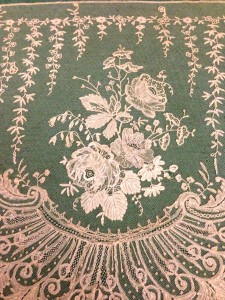 One of Heather Toomer's many beautiful pieces of lace.