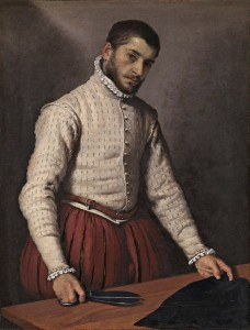Giovanni Battista Moroni's tailor at work, c1570