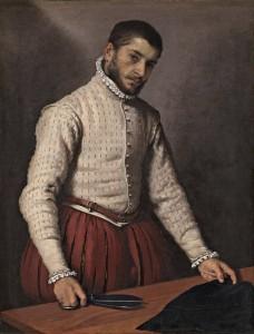 Giovanni Battista Moroni's tailor at work, c1570