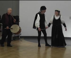 Peter Greener & Kate Page dance Rosti Boli