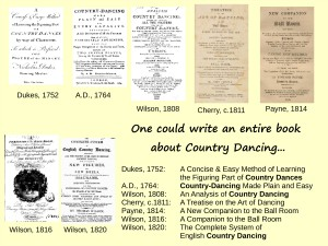Country Dancing Manuals