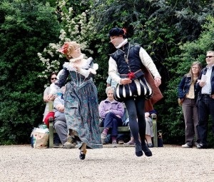 A galliard from Norfolk Historical Dance