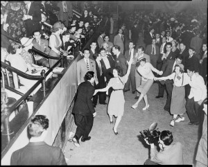 The Jitterbug in the dance hall